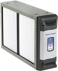 The American Standard AccuClean Whole House Air Cleaner, furnace filter, air conditioner filter, allergy control