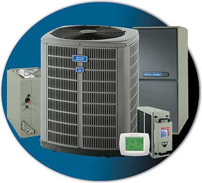 American Standard air conditioners and air conditioning