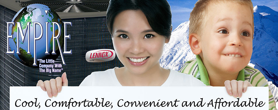Save on Lennox air conditioning installation