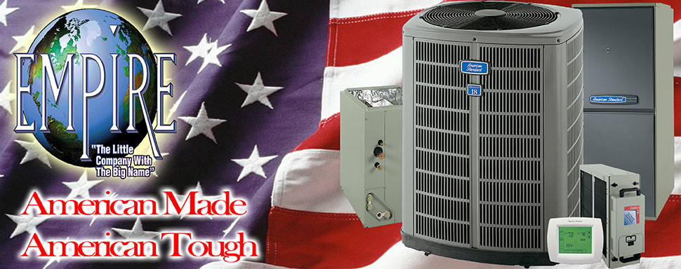 Save on American Standard air conditioning installation