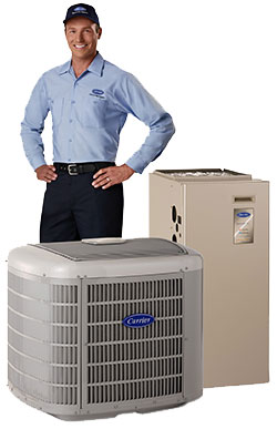 Carrier air conditioner service and repair as well as Carrier air conditioning installation