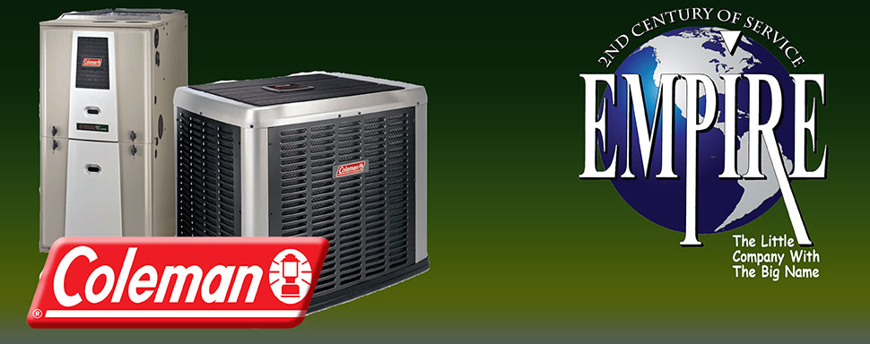 Save on Coleman air conditioning installation, Coleman Heater Installation