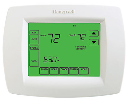 Honeywell thermostat Pro 8000