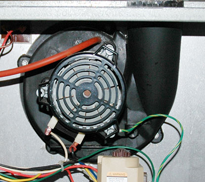 home air conditioner furnace induced draft furnace motor